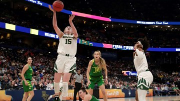 Baylor edges out Oregon 72-67 in Final Four