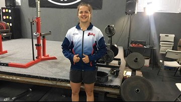 Canby teen wins gold at powerlifting world championships