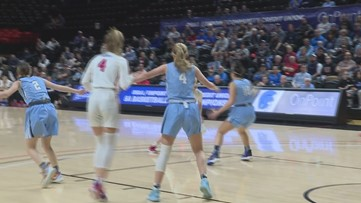 Highlights: No. 2 La Salle Prep advances to state semifinals with 65-46 win over No. 7 Corvallis