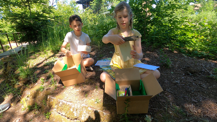 Let's Get Out There: Nature kits for kids