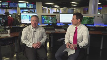 Weather Extra: Rod & Chris on snow ending and bad conditions in the Gorge