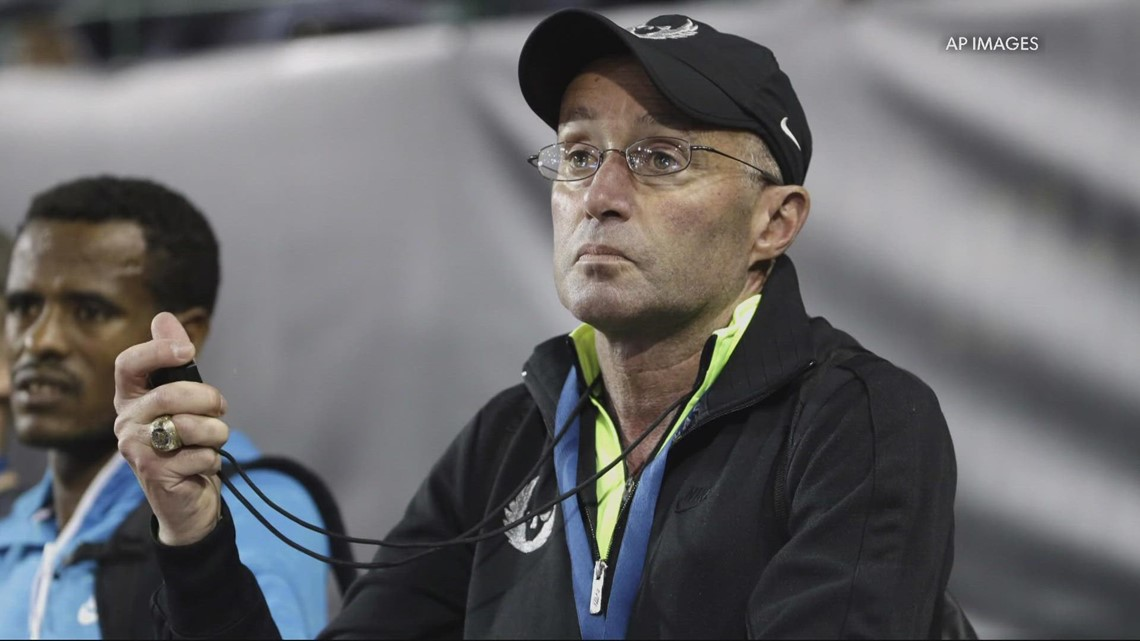 Track star files $20M lawsuit against Nike, former coach Alberto Salazar