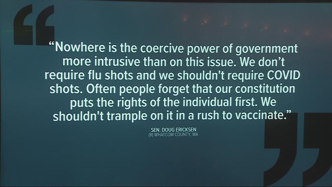 Proposed Washington vaccine bill would prevent vaccine status discrimination
