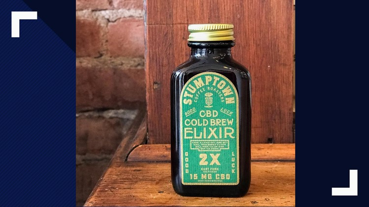 Stumptown CBD Cold Brew Elixir
