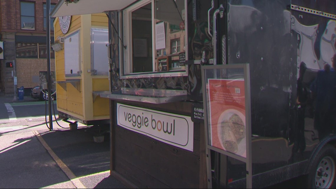 Food truck owners in downtown Portland struggle to stay afloat