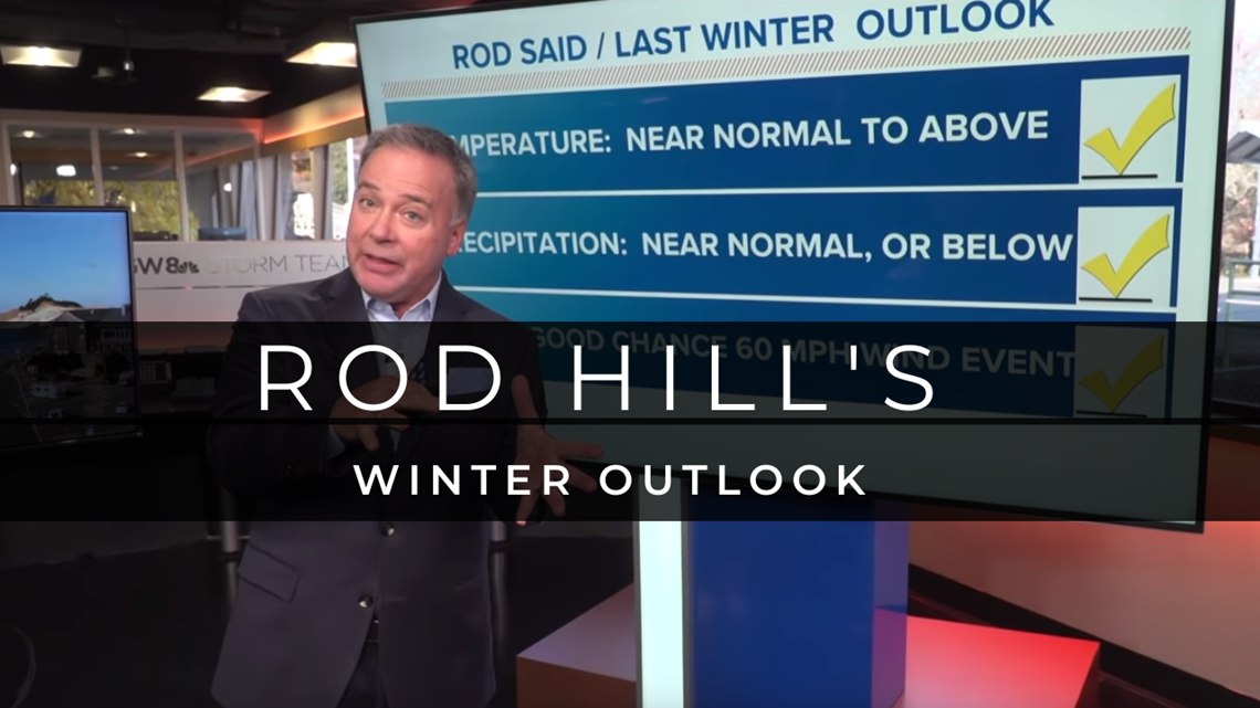 Are you ready for some snow? Rod Hill's 2019 winter outlook