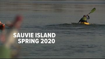Spring at Sauvie Island