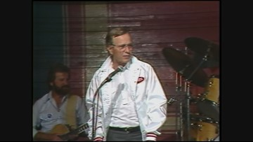 Archive video: Vice President George H.W. Bush campaigns for re-election in Oregon in 1984