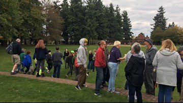 More than 100 volunteers search for missing University of Portland student