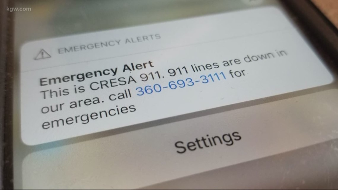 911 restored in Clark County after outage