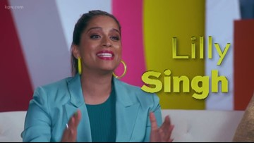 """We're more than a little excited for """"A Little Late with Lilly Singh"""""""