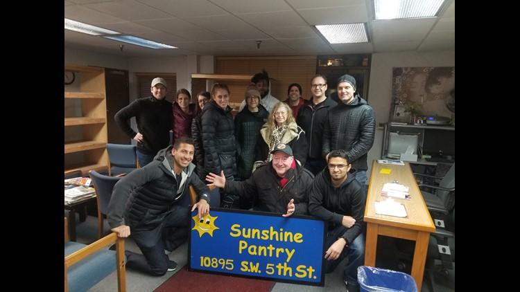 Sunshine Pantry staff