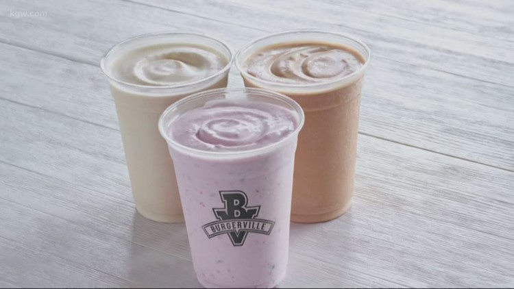 Burgerville to release new dairy-free 'Bliss Shakes'
