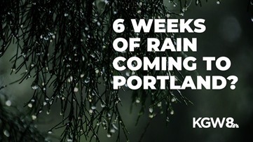 6 weeks of rain? Snow on Thanksgiving? Winter is coming to Portland