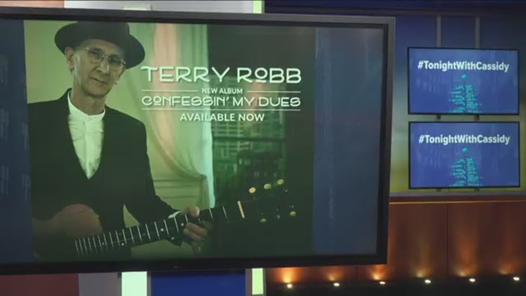 See Terry Robb at the Waterfront Blues Festival