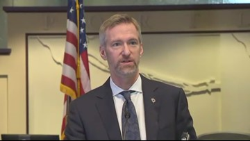 Portland Mayor Ted Wheeler's monthly press conference, 1-17-19