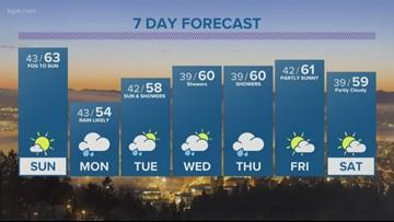 KGW evening forecast 3-23-19