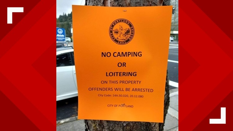 VERIFY: Are these 'no camping' signs real?