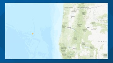 5.3 earthquake Wednesday morning off Southern Oregon coast