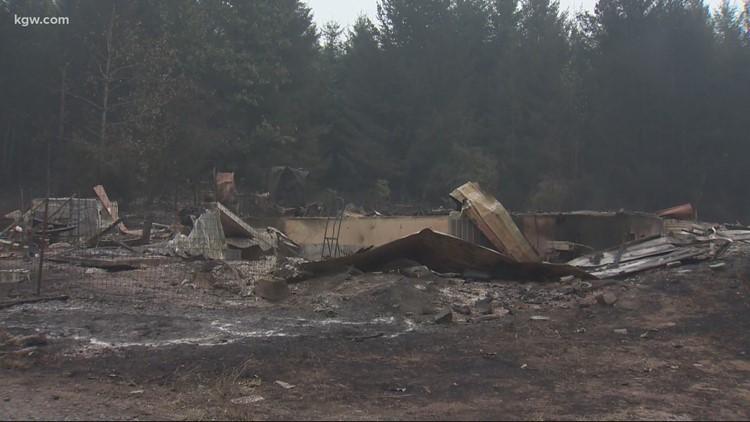Oregon woman sentenced for burglaries during 2020 wildfires