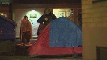 Salem takes steps to limit homeless camping on public sidewalks