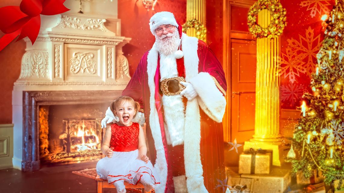 Salem photographer creates safe photoshoots with digital Santa Claus