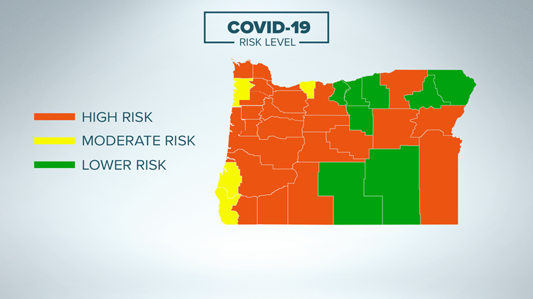 All Oregon counties move out of extreme COVID-19 risk category
