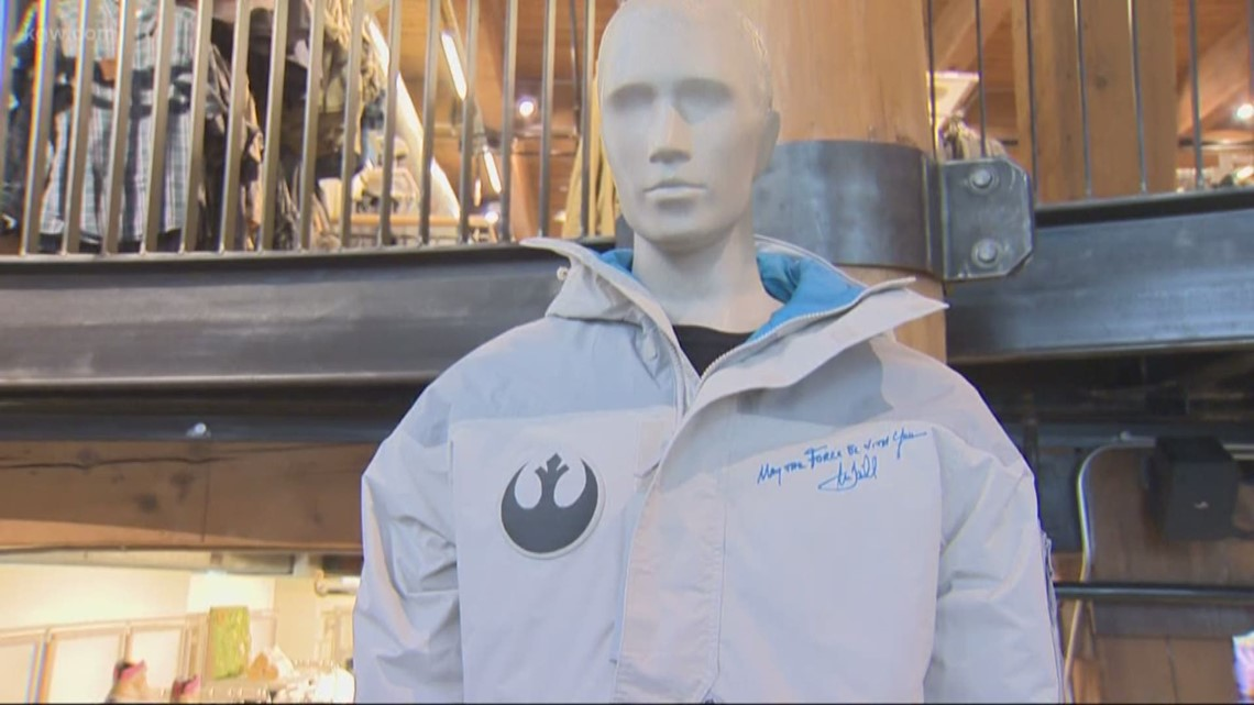 Mark Hamill signed Star Wars jackets sell out at Portland Columbia store
