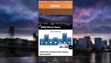 Get the new KGW app before severe weather hits!