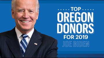 These Oregon residents are Joe Biden's biggest donors