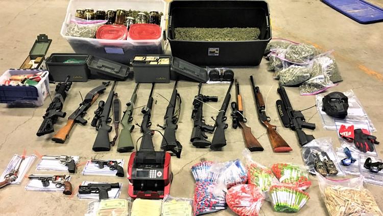 Police bust burglary ring that targeted marijuana businesses in Washington, Oregon