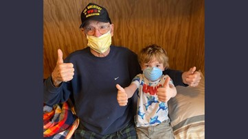 Oregonians with coronavirus: Yamhill County veteran, 95, battled COVID-19 and won