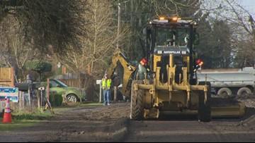 Portland announces new gravel street service