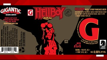 Beer and comics? Yes, please! Dark Horse and Gigantic Brewing celebrate Hellboy Day March 23