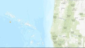 Two small earthquakes hit off Oregon Coast