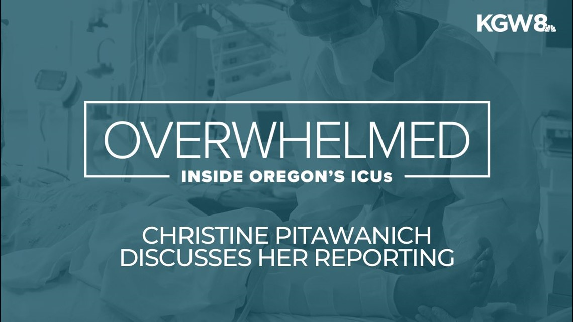 Christine Pitawanich talks about reporting inside the COVID ICU at Oregon's largest hospital