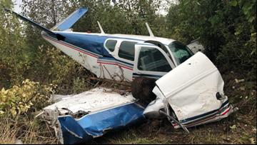 Deputies identify 2 injured in Gresham small plane crash