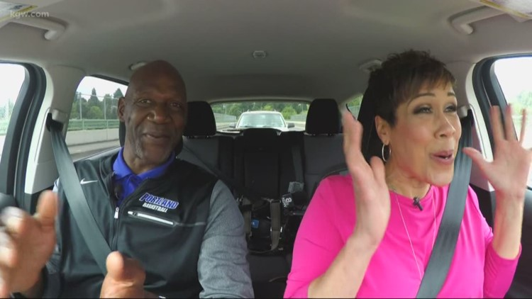 KGW Carpool: Brenda Braxton chats with Blazers legend Terry Porter