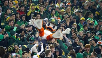 Sports Illustrated: Oregon Ducks mascot is second best ever