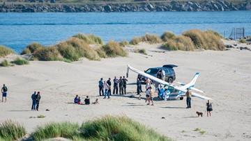 Newport mayor, two passengers injured in plane crash on