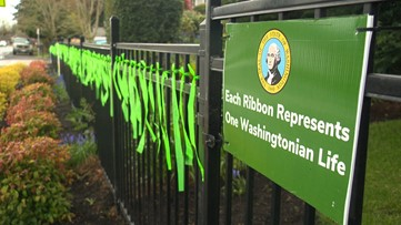 Vancouver home honors those who died from coronavirus in Washington