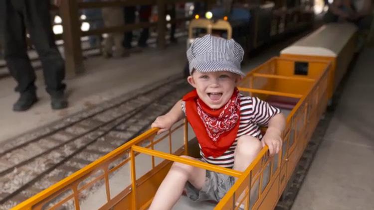 Grant's Getaways: Molalla Train Park