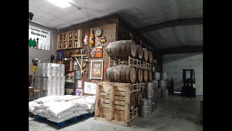 Barrel Mountain Brewing in Battle Ground, WA.