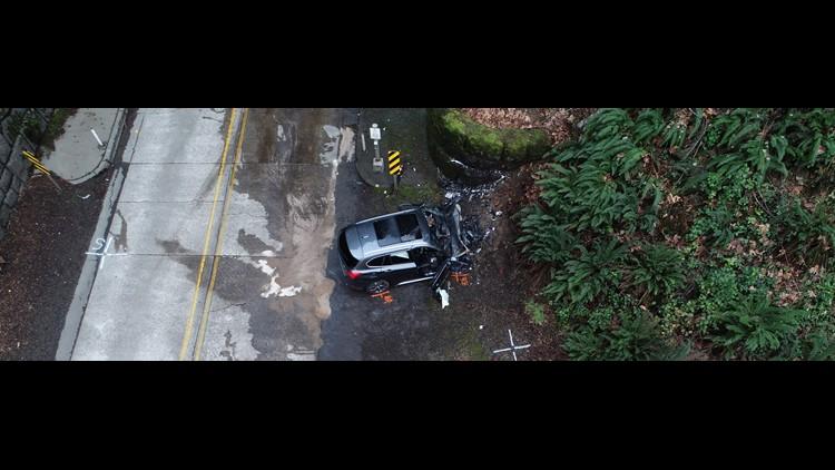 Lake Oswego man dies in U S  26 crash west of Banks | kgw com