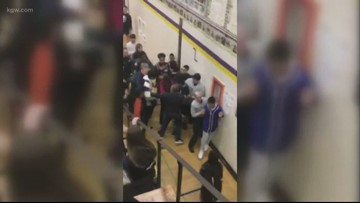 27 students 'emergency expelled' following Gaiser Middle School riot; 9 arrested