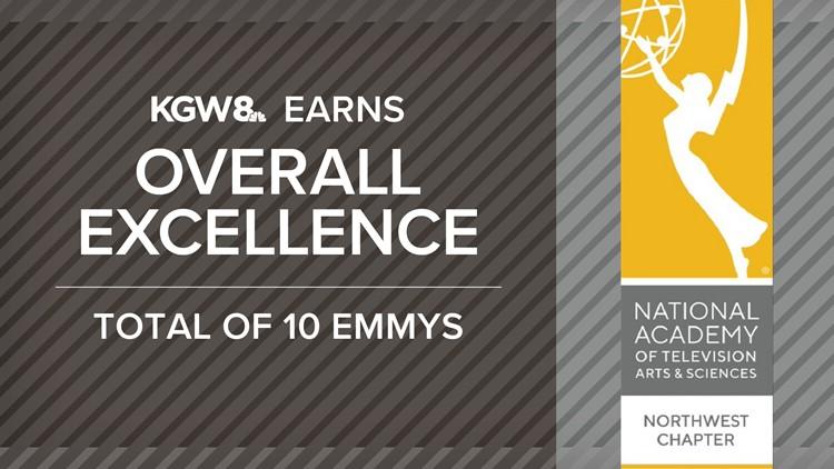 KGW earns 10 regional Emmy awards for 2020