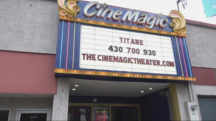 Movie theater to hold fundraiser for businesses destroyed in Southeast Portland fire