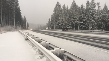 Winter Storm Warning: Government Camp could see 6 inches of snow tonight