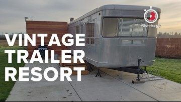 #Sunrise60: Glamping has never been more fun with expanded The Vintages Trailer Resort in Yamhill County wine country