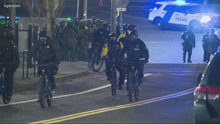 Oregon Department of Justice reviewing Portland police detective's actions at protest for possible criminal prosecution